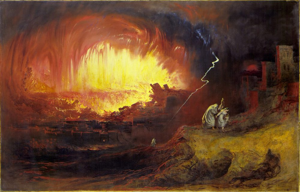 Homosexuality and the sin of Sodom and Gomorrah